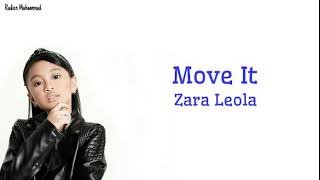 Lirik lagu zara leola---Move it
