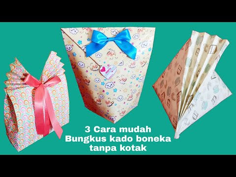 How to make a PAPER BAG ? Easy+Quick.