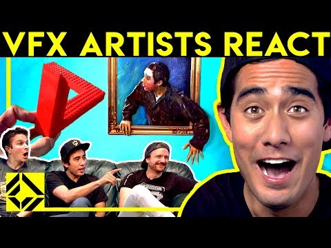 VFX Artists React to CGi Magic (ft. Zach King)
