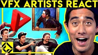 Download VFX Artists React to CGi Magic (ft. Zach King) Mp3 and Videos