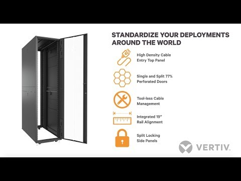 Vertiv VR Rack, A Premium Rack Solution For Rapid Deployment