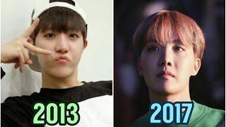 BTS J-Hope 제이 홉 Evolution 2013-2017