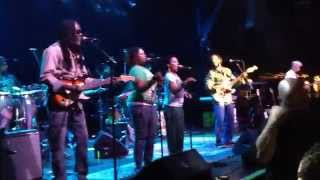 Ziggy Marley ~ Conscious Party ~ Hampton Beach, NH 10.11.2014 SNS