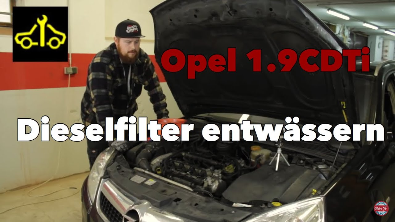 Dieselfilter kraftstofffilter entw ssern learning by viewing youtube