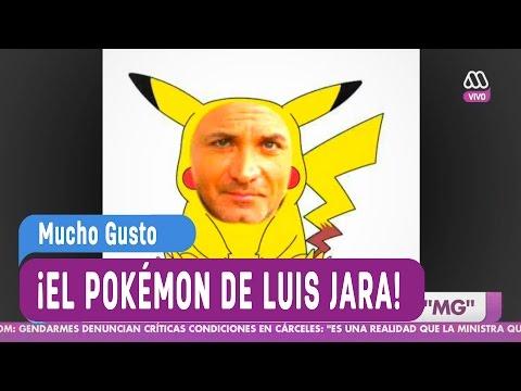 El pokémon de Luis Jara - Mucho Gusto 2016