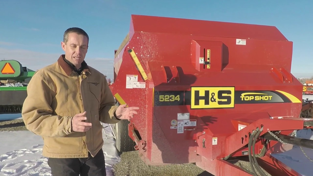H S Manure Spreader Review Youtube