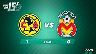 Fut en 15' América 1 - 0 Morelia | Liga Mx Apertura 2019 - Jornada 5 | TUDN