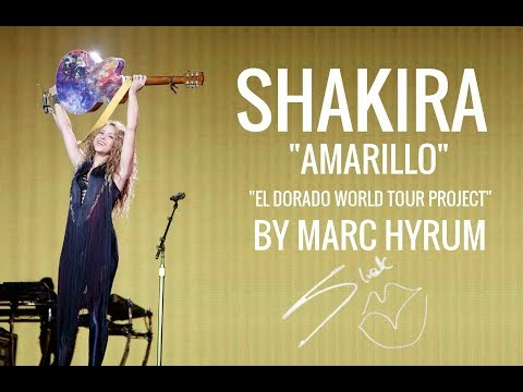 "Shakira ""Amarillo"" El Dorado World Tour Project  DVD RESTORED EDITION"