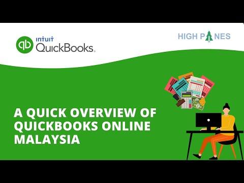 Quickbooks Online Malaysia DEMO with Malaysia GST