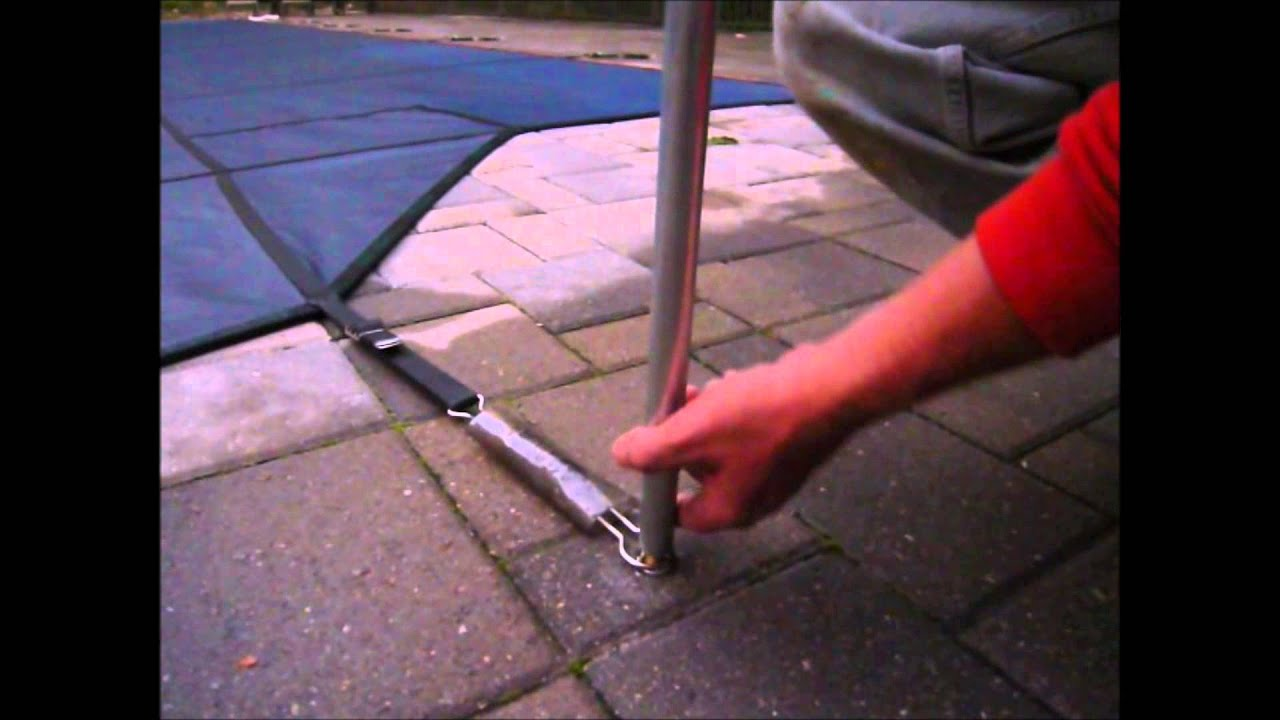 Ask The Pool Guy Safety Cover Grommets And Pole How It