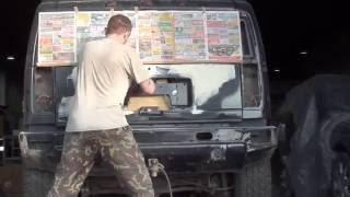 Hammer ремонт крышки багажника