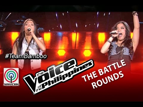 The Voice of the Philippines Battle Round Banal na Aso by Shaira Cervancia and Tanya Diaz