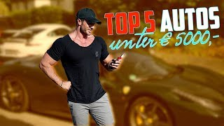 Autos unter 5000,- Top 5