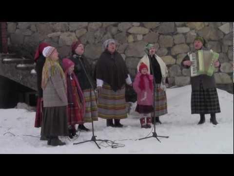 "Folkloras Kopa Āre ""Saule Brauca Augstu Kalnu"" 31.03.2013."
