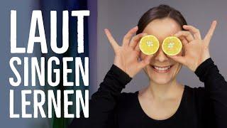 Gesangsübungen für Anfänger - Resonanzräume finden - laut singen lernen | singdu.de