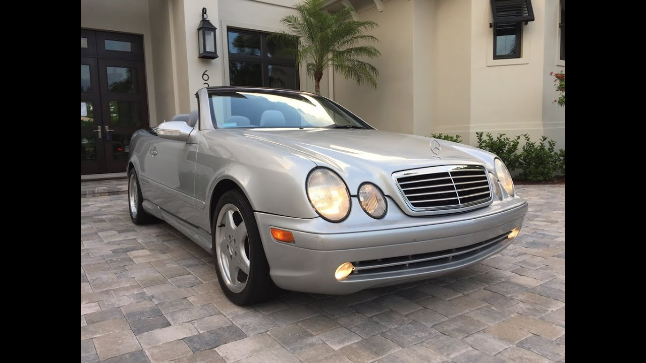 2001 mercedes benz clk430 cabrio for sale by auto europa naples youtube. Black Bedroom Furniture Sets. Home Design Ideas