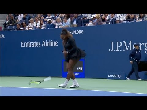 US오픈 테니스 결승에서 세레나가 빡친이유 ft. 존문가