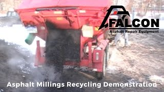 Falcon Asphalt Millings Recycling Demonstration
