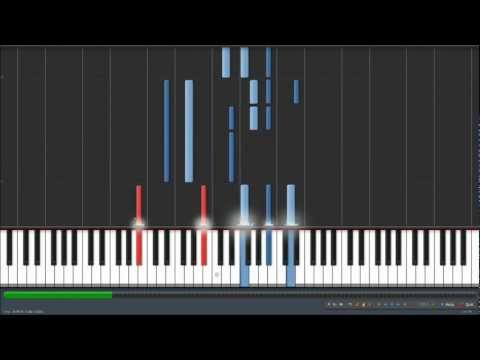 David Bowie - Life on Mars? Synthesia Piano Tutorial