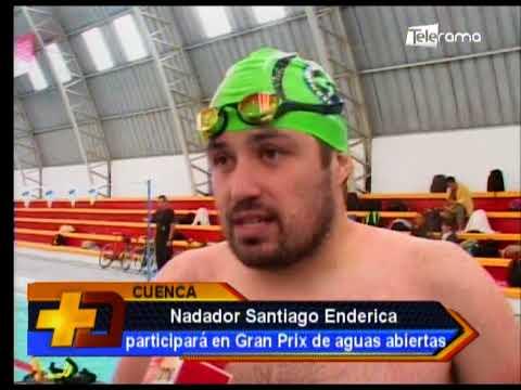 Nadador Santiago Enderica participará en Gran Prix de aguas abiertas