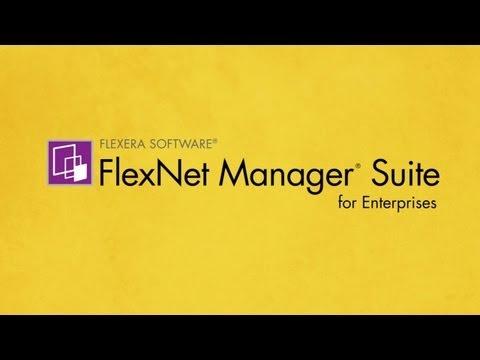 Flexera Software FlexNet Manager Suite