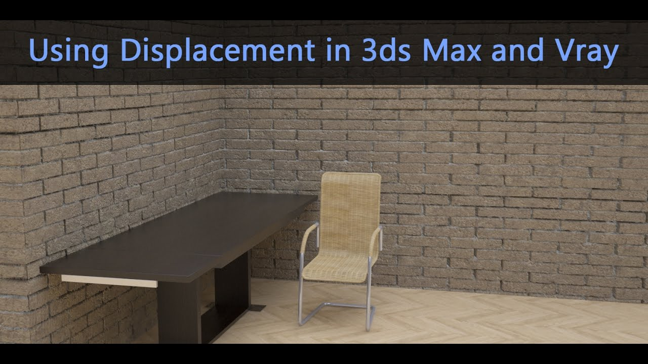 3ds Max Quick Tips (Displacement and Texturing) - DKCGI