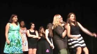 Talent Shows & Take Downs at Harand Theatre Camp 2015 (Bad Blood/Fight Song)