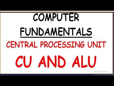 CENTRAL PROCESSING UNIT IN COMPUTER (HINDI) | CONTROL UNIT | ALU