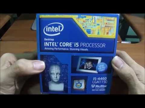 Core i5 4460 Haswell Refresh - Unboxing