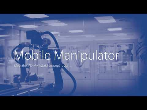 The unique cobot and mobile robot hybrid concept solution from Omron