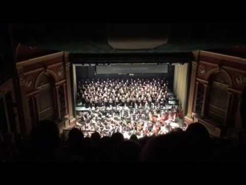 Winston Salem Symphony Performs Beethoven's 9th
