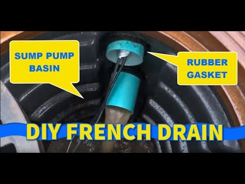 DIYers Build French Drain Yard Drainage System Like the Pros