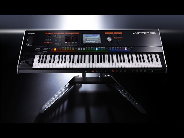 Roland Jupiter 80 Pianosounds Demonstration