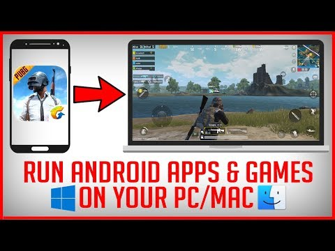 How To Run Android APPS And GAMES On PC - Best Android Emulator For PC