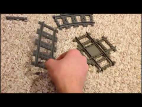 Homemade Lego Train Track Tutorial