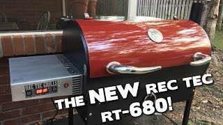 The NEW REC TEC RT-680 Pellet Grill! Unboxing and Review