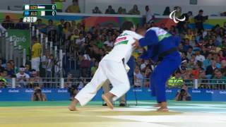 Judo | Uzbekistan vs Algeria | Men's -73kg Quarter-final | Rio 2016 Paralympic Games