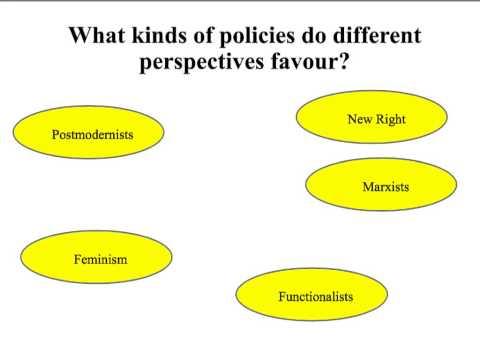 Sociology and social policy