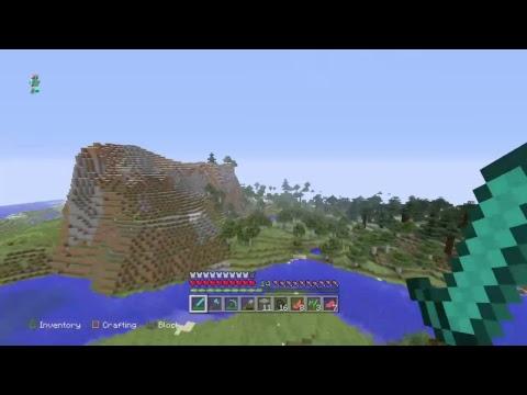 Minecraft survival world i found 21 Diamonds