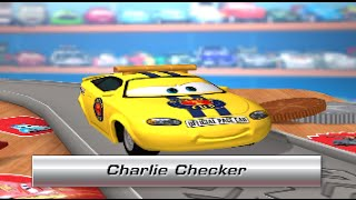 Disney Pixar Cars Daredevil Garage CHARLIE CHECKER - iPhone iPad iOS/Android