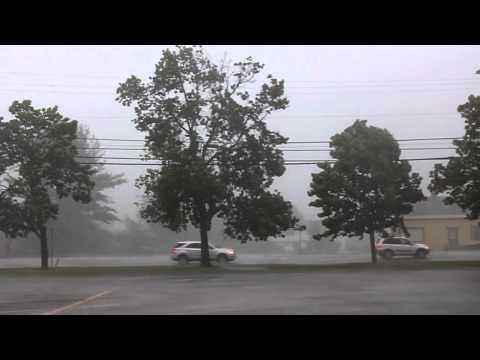 Severe Milton, Vermont Storm, 5/29/12