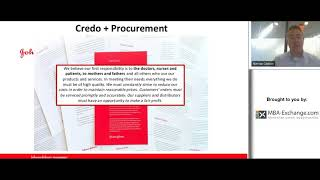 Procurement at J&J