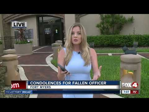 Death of Fort Myers Police officer mourned in Southwest Florida