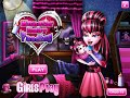 Monster High Draculaura- Monster Baby Feeding- Fun Online Baby Games for Girls Kids