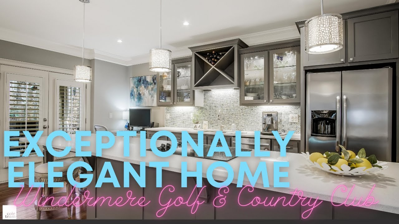Exceptionally Elegant home in Windermere Golf & Country Club