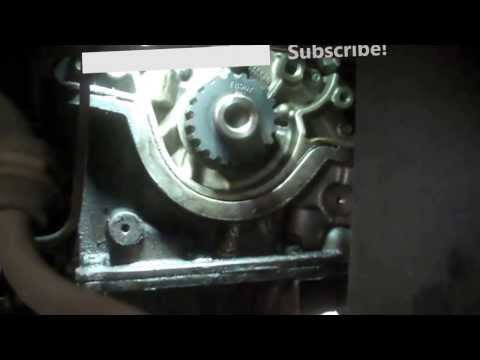 Ford    Zetec    20 liter timing belt replacement Part I HD   FunnyCatTV
