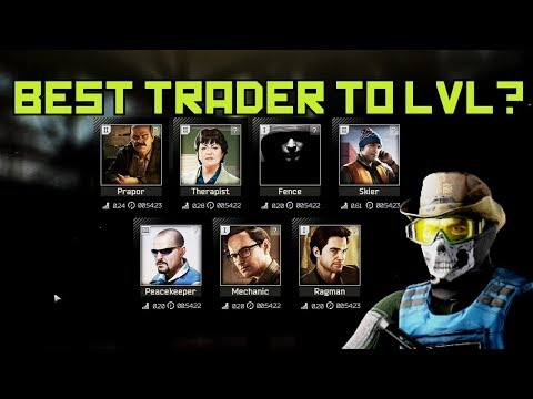 What Is The Best Trader To LVL Up? - Escape From Tarkov