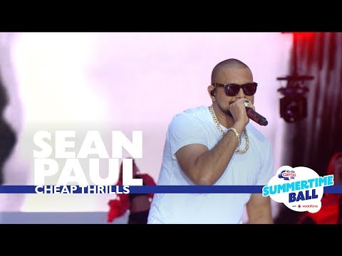 Sean Paul - &39;Cheap Thrills&39;   At Capital's Summertime Ball