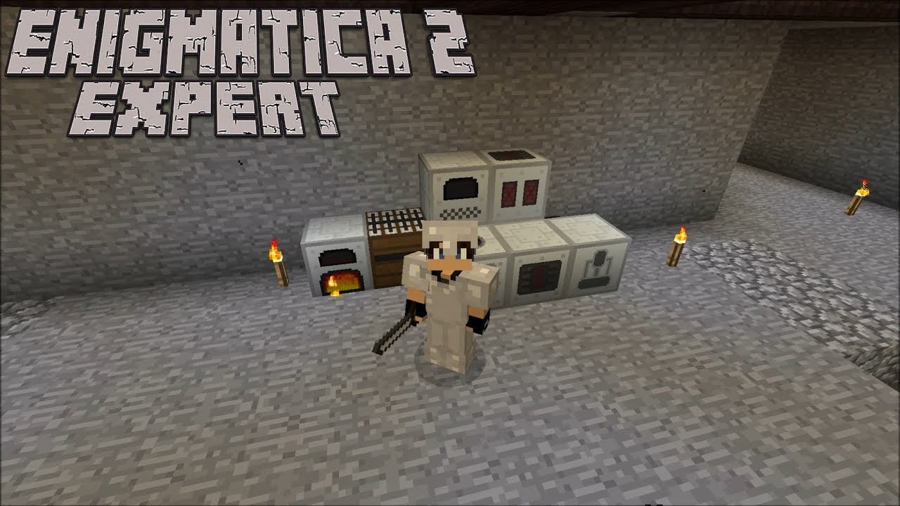 Unbreakable Tools and IC2 : Enigmatica 2 Expert Lp Ep #4 Minecraft 1 12