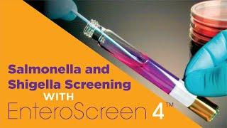 enteroscreen 4 for salmonella and shigella screening by hardy diagnostics